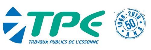 TPE Travaux Publics de l'Essonne Logo